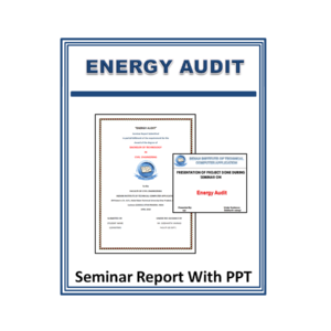 ENERGY AUDIT Seminar Report With PPT