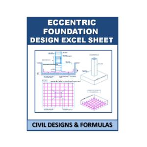 Ecentric Foundation Design Excel Sheet