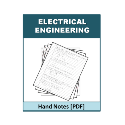 Electrical Engineering Handnote
