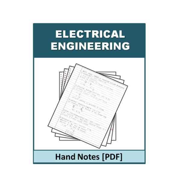 Electrical Engineering Handnote