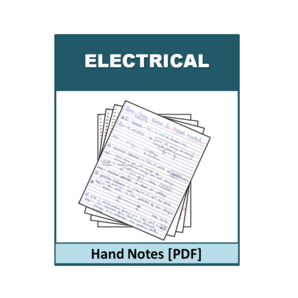 Electrical Hand Note