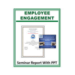 Employee Engagement Seminar Report With PPT