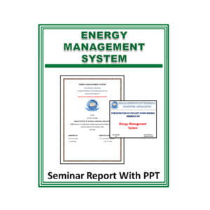 Energy Management System Seminar Report With PPT