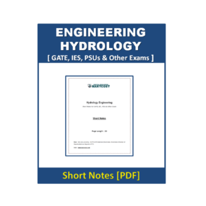 Engineering Hydrology Short Note