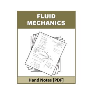 FLUID MECHANICS Handnote