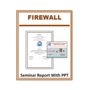 Firewall Seminar Report With PPT