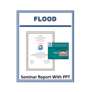 Flood Seminar Report With PPT