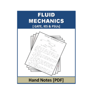Fluid Mechanics Handnote