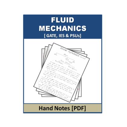 Fluid Mechanics Hand Note