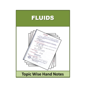 Fluids Topic Wise Physics Handnote
