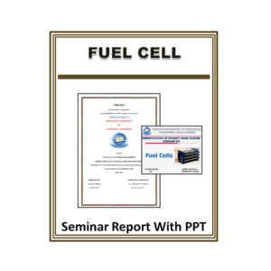 Fuel Cell Seminar Report With PPT