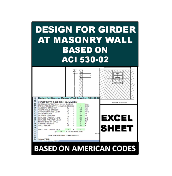 Design for Girder at Masonry Wall Based on ACI 530-02