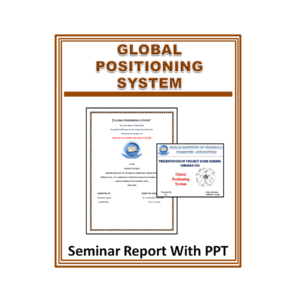 Global Positioning System Seminar Report With PPT