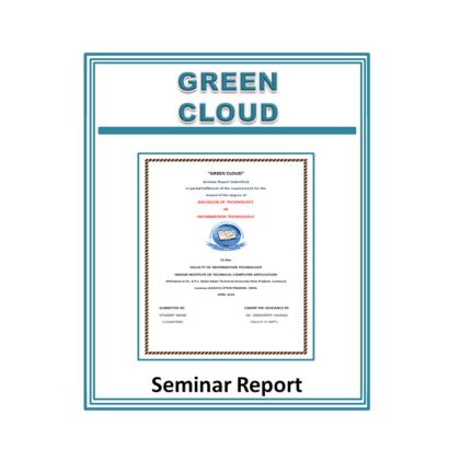 Green Cloud Seminar Report