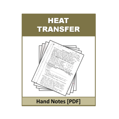Heat Transfer Free Hand Note