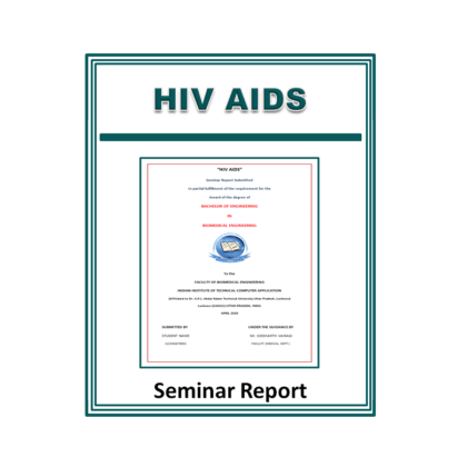 HIV AIDS Seminar Report