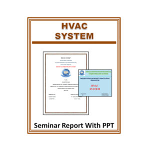 HVAC System Seminar Report With PPT