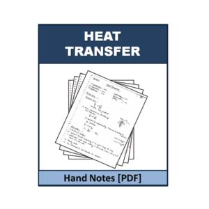 Heat transfer Handnote