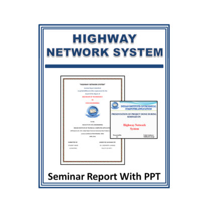 Highway Network System Seminar Report with PPT