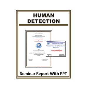 Human Detection Seminar Report With PPT