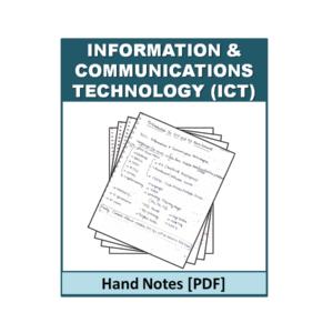 ICT Handnote
