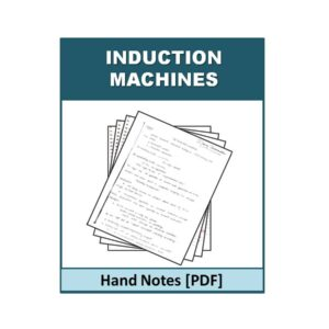 Induction Machines Free Handnote