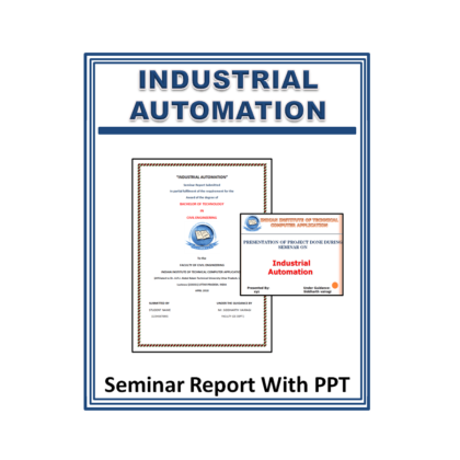 Industrial Automation Seminar Report with PPT