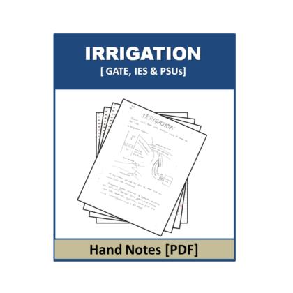 Irrigation Hand Note