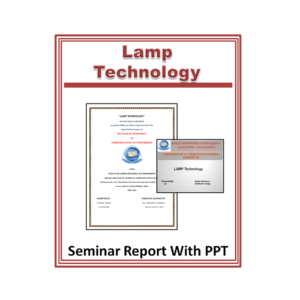 Lamp Technology Seminar Report with PPT