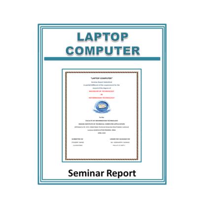 Laptop Computer Seminar Report