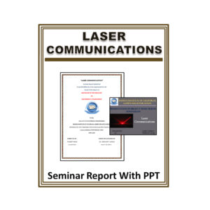 Laser communications Seminar Report With PPT