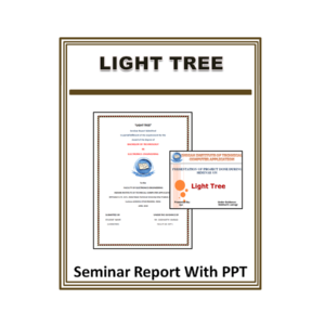 Light Tree Seminar Report With PPT