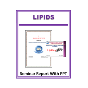 Lipids Seminar Report With PPT