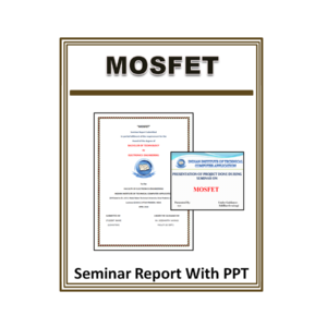 MOSFET Seminar Report With PPT