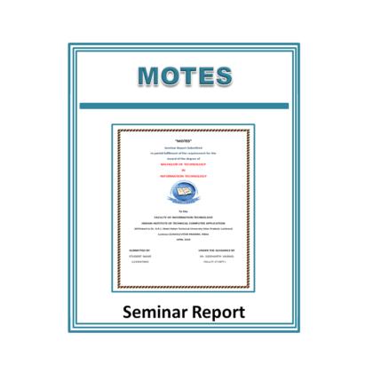 Motes Seminar Report