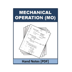 Mechanical operation (MO) Handnote
