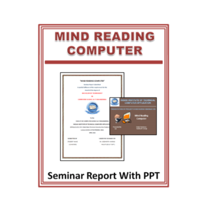 Mind Reading Computer Seminar Report With PPT