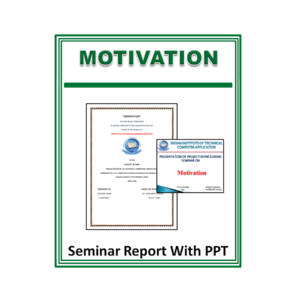 Motivation Seminar Report With PPT