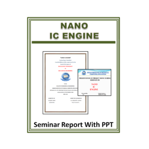 NANO IC ENGINE Seminar Report with PPT