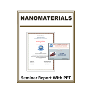 Nanomaterials Seminar Report With PPT