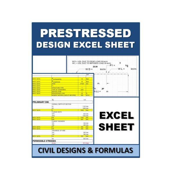 PRESTRESSED DESIGN WITH MOVINGLOAD Design Excel Sheets