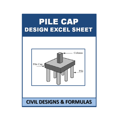 Pile Cap Design Excel Sheet with Shortcut Key's (Based on IS Code)