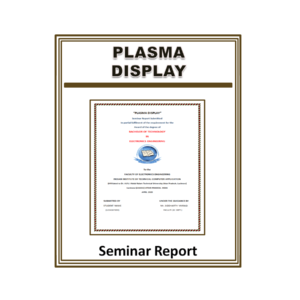 Plasma Display Seminar Report