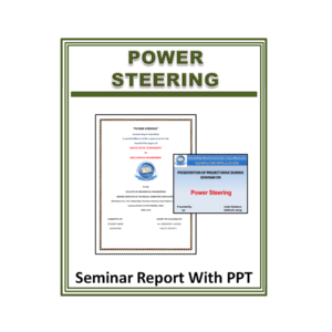 Power Steering Seminar Report with PPT