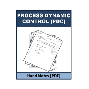 Process Dynamic Control (PDC) Handnote