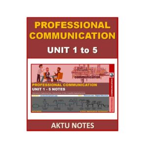 Professional Communication AKTU Note