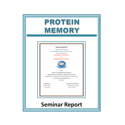 Protein Memory Seminar Report