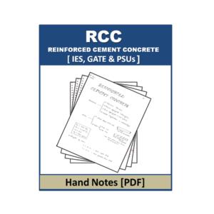 RCC Hand Note