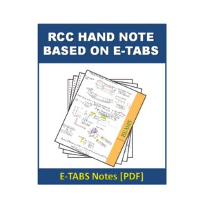 RCC Hand Note Based on E-tabs
