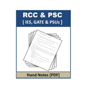RCC & PSC HandNote